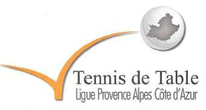 Logo Ligue de Tennis de Table PACA